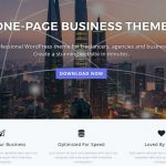 One Page WordPress Website